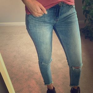 ⭐️ Free people denim jeans